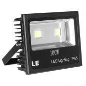 LED Fluter 100W,10150lm LED Flächenstrahler,entspricht 250W HS-Lampe, Kaltweiß