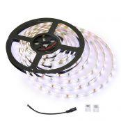 LE 5M Dimmbar LED Streifen Set, Kaltes Weiß, 12V, Selbstklebend LED Strip, Flexibel LED Band, LED Leiste, LED Lichtband (Fernbedienung und Adapter nicht enthalten)
