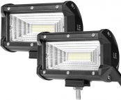 LE 2er LED 60W Zusatzscheinwerfer 5200lm, Arbeitsscheinwerfer IP67 wasserdicht, LED Scheinwerfer mit 24 LEDs