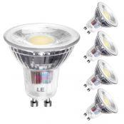5w led leuchtmittel, Ersatz für 60W Halogenlampen, 5er Pack