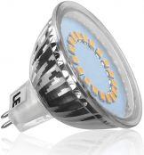 LE 3.5W MR16 GU5.3 Birnen, Entspricht einer 35W Halogenlampen, Nur 12V DC, 280lm, 120 ° Abstrahlwinkel, Warmweiß