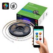 12V Mehrfarbig LED Lichtleiste Set, Non-wasserdicht, Smart RGB Lichterkette, 5M Dimmbar