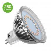 MR16 GU5.3 Birnen, 3.5W LED Lampen, Ersatz für 35W Halogenlampen,warmweiß