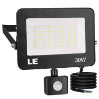 30W LED Strahler mit Bewegungsmelder,