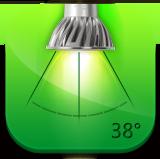 30 degree led spotlight